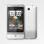 HTC Hero White with Android